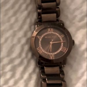 Michael Kors Watches (Silver and Chocolate)